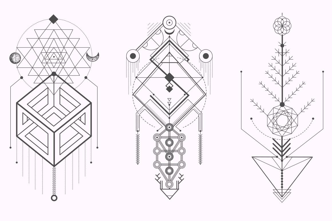 Sacred Geometry. Magic totem vol.2 example image 5