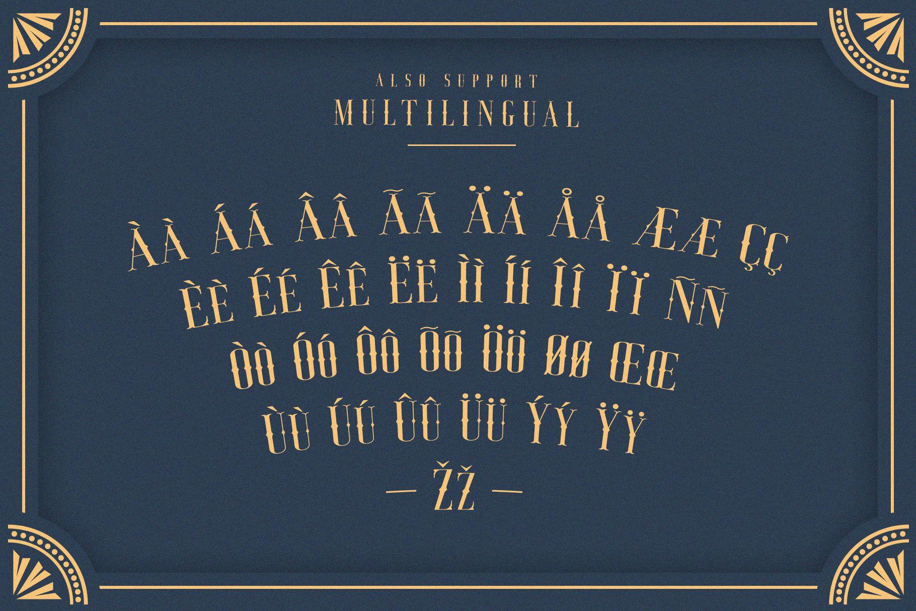 Jocker - Vintage Serif Font Family example image 8