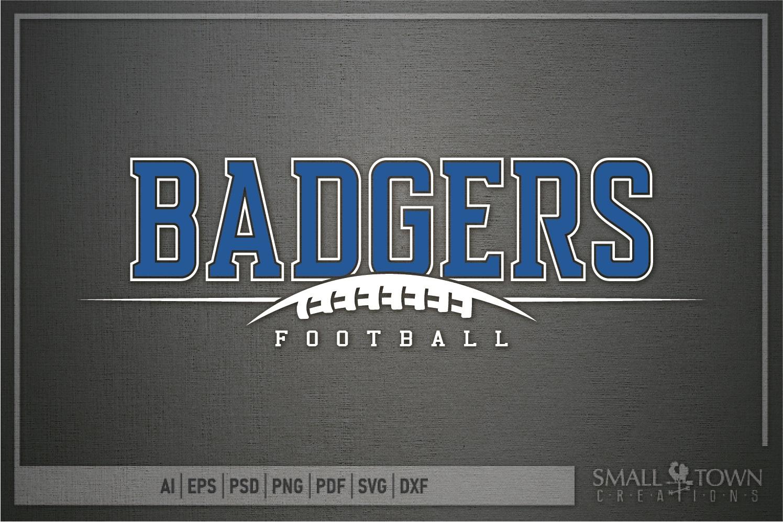 Badger, Badger Football Team, Sport, PRINT, CUT & DESIGN example image 5