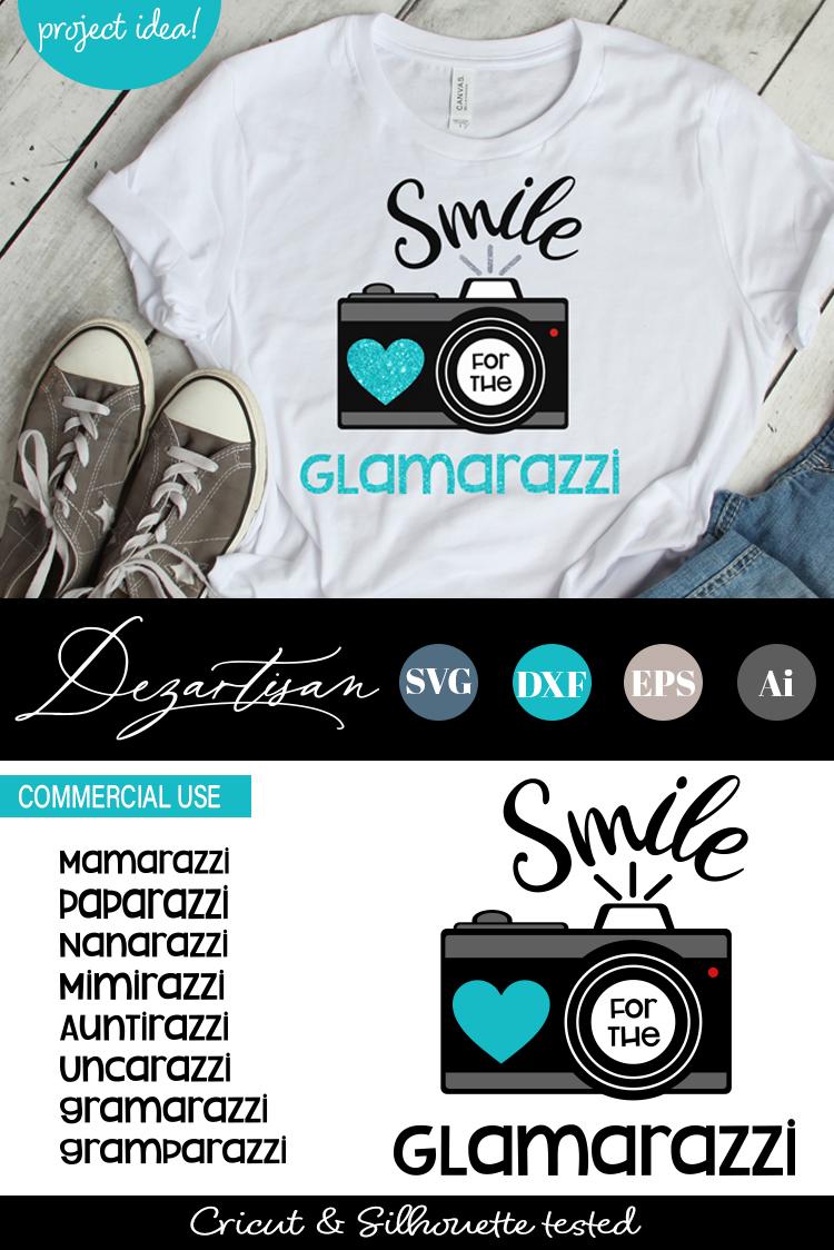 Smile for the Glamarazzi Mammarazzi Paparazzi Camara example image 2