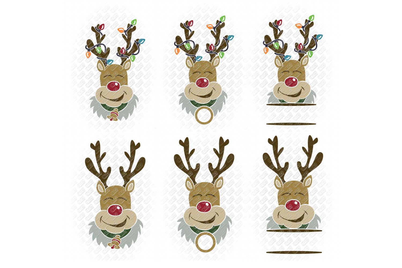 Reindeer SVG Bundle Antlers in SVG, DXF, PNG, EPS, JPEG example image 9