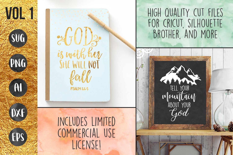 FAITH BUNDLE - 10 designs - svg cut files cricut silhouette example image 4