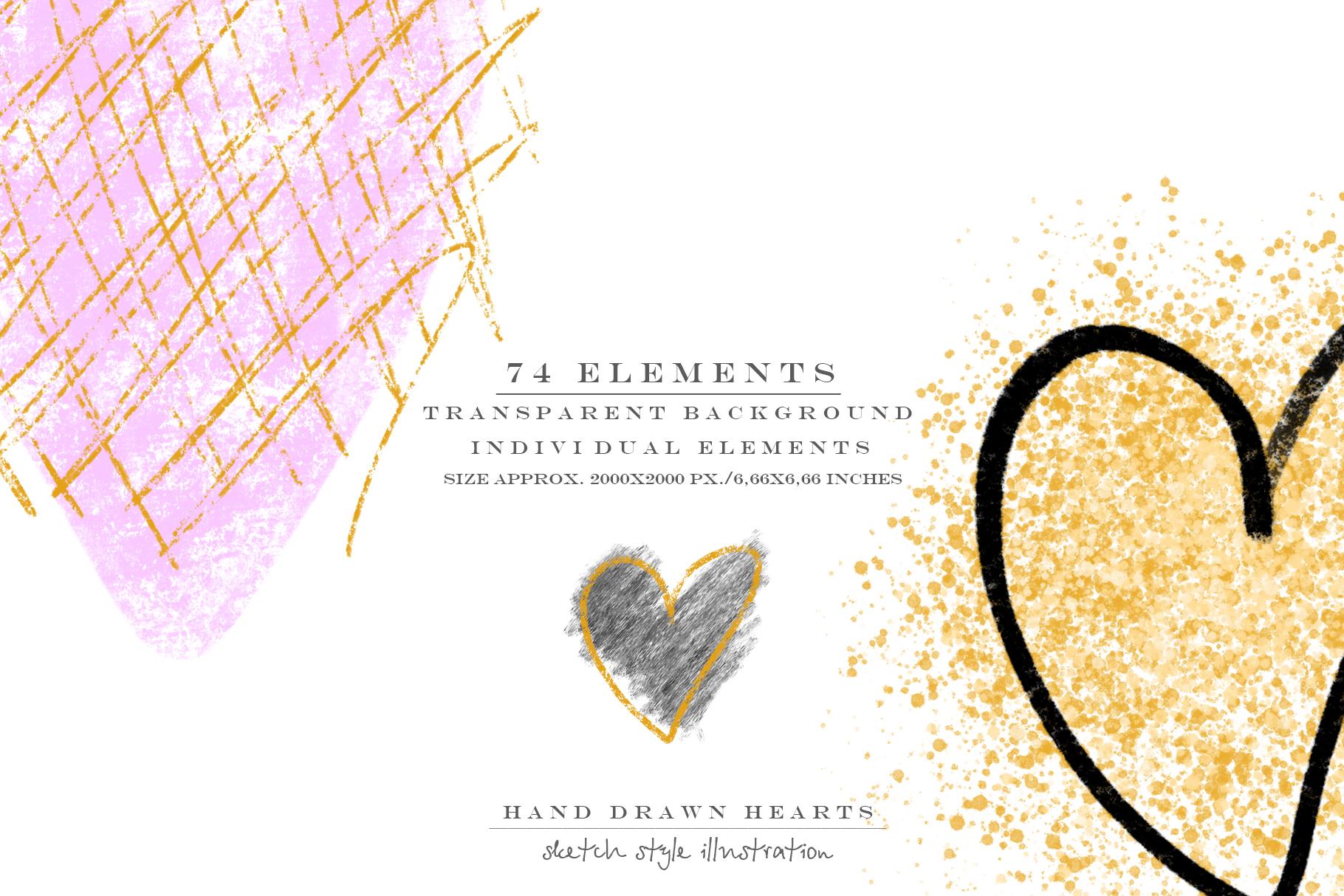 Stylish hearts example image 2