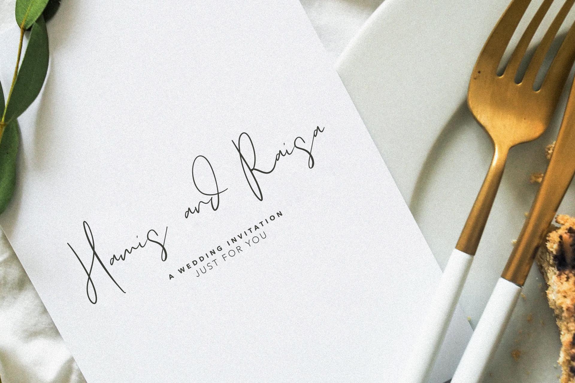 Morgarets Script Font example image 6