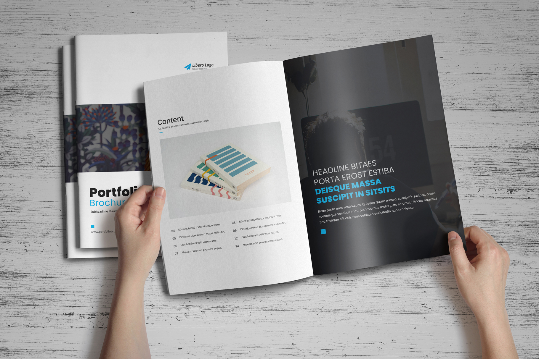 Portfolio Brochure Design v4 example image 13