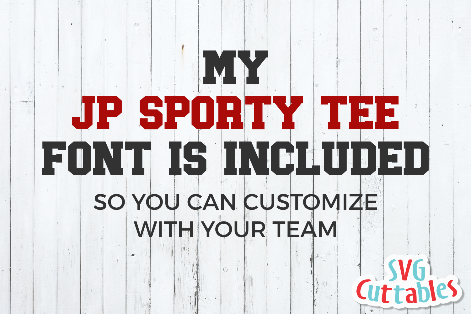 Cheer Template 0040 | SVG Cut File example image 4