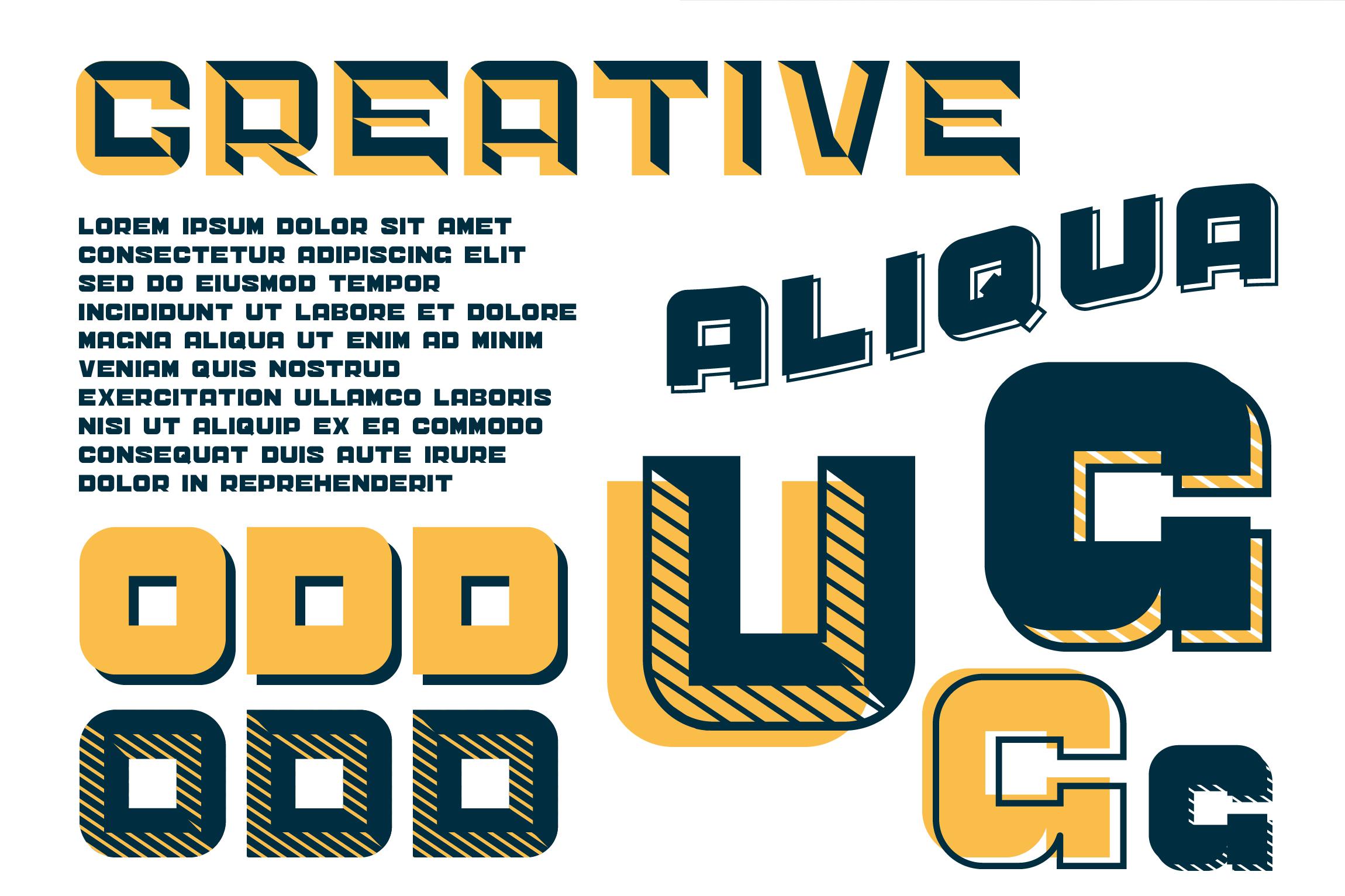 CS Sandreas Font Family example image 5