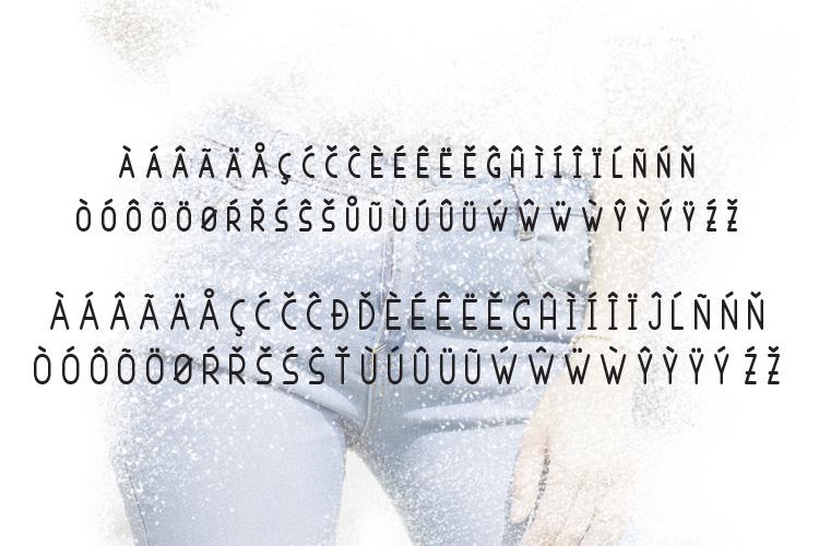 Nervous Sans Serif example image 10