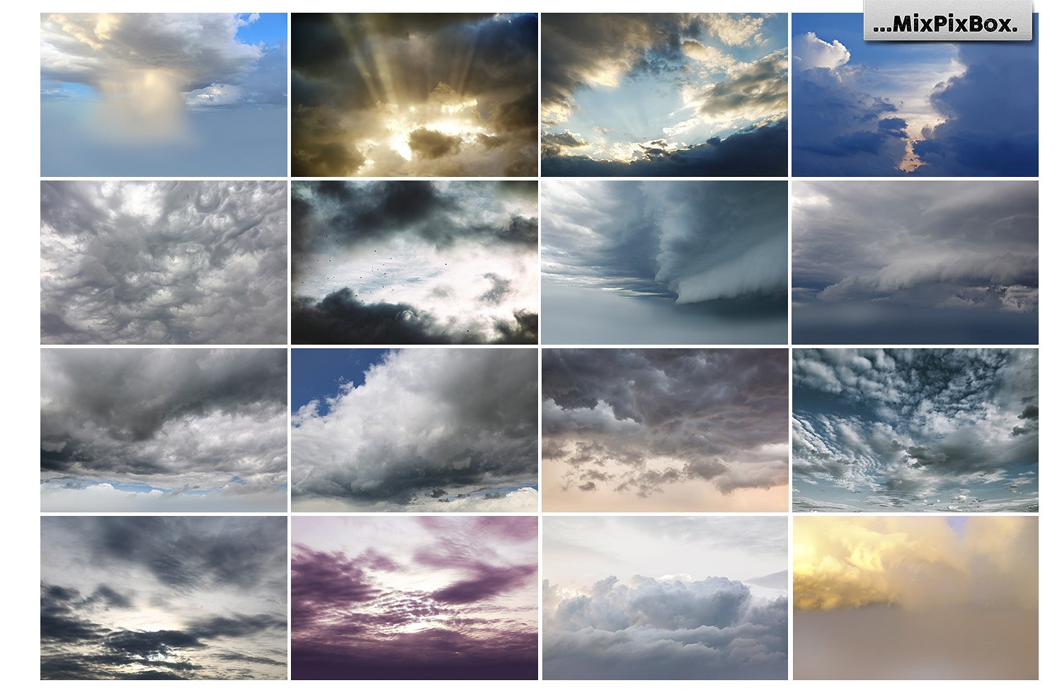 Stormy Sky Overlays example image 6