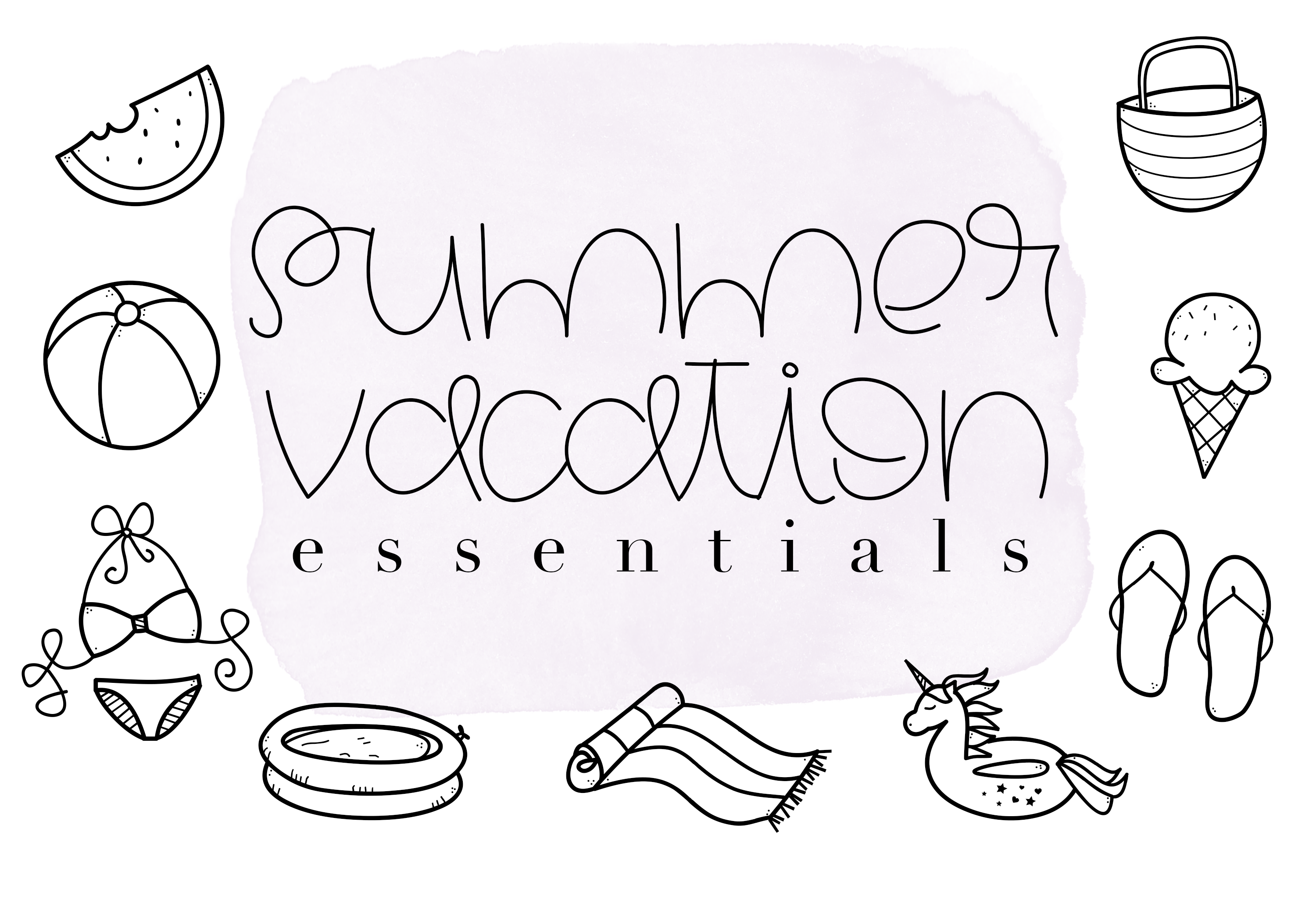 Summertime - A Cute Handwritten Font example image 5
