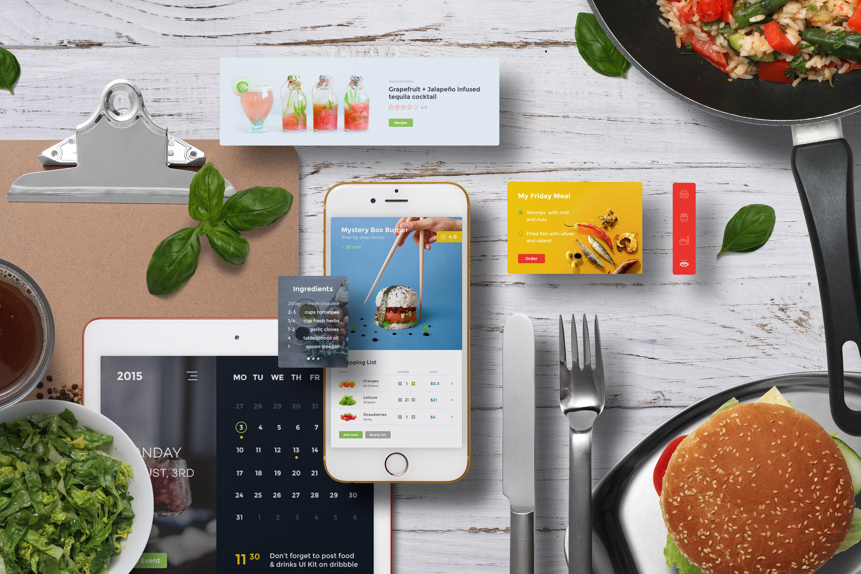 App / UI Kit Mockups example image 9