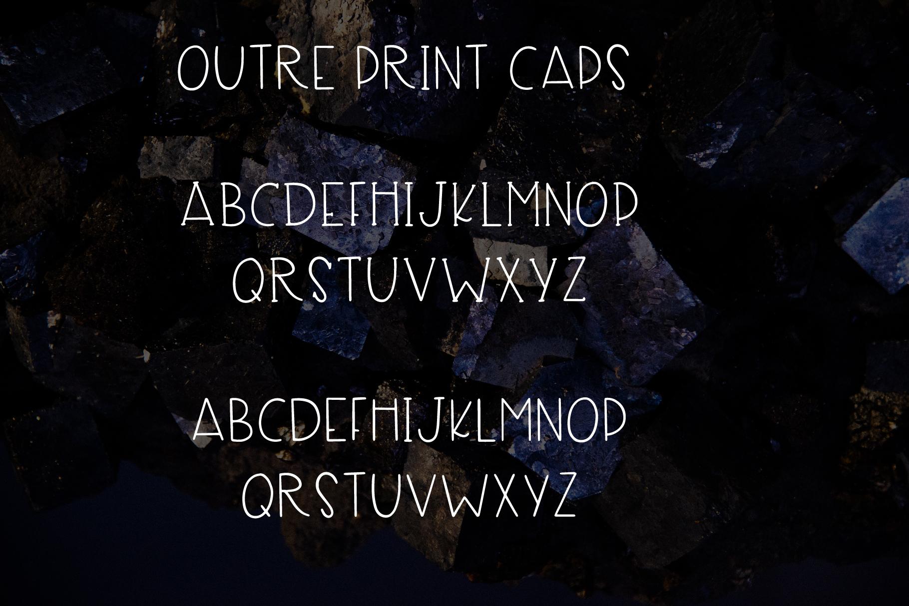 Outre - A 7 Font Set example image 3