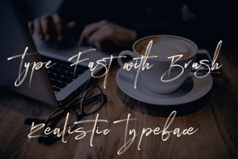 Expert Brush & SVG Font example image 7