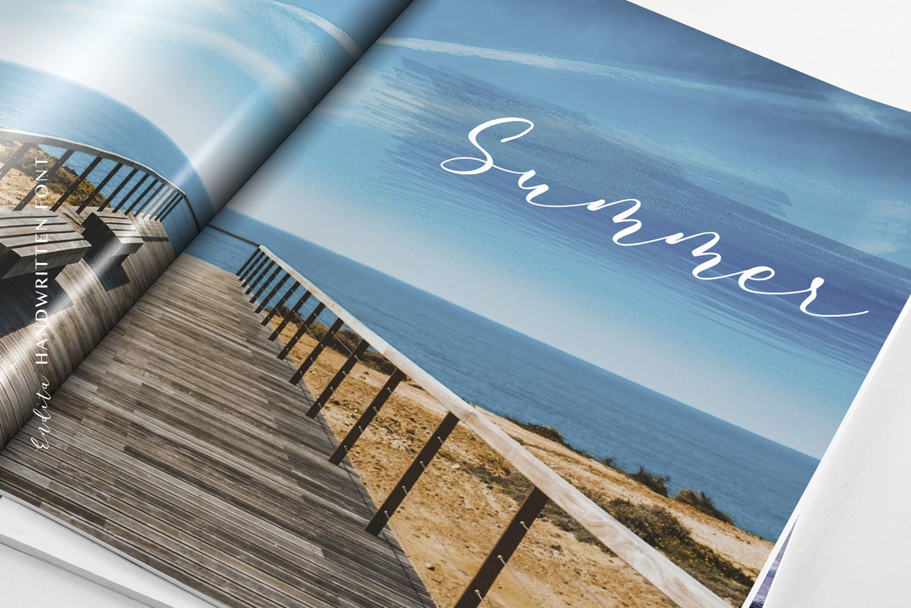 Endita Handwritten Font and Extras example image 3