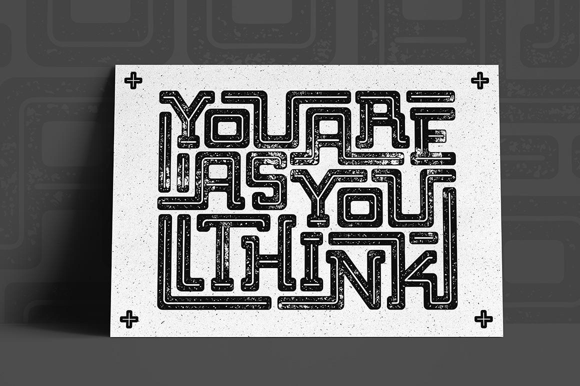 Bebop Slab Serif Font Family example image 7