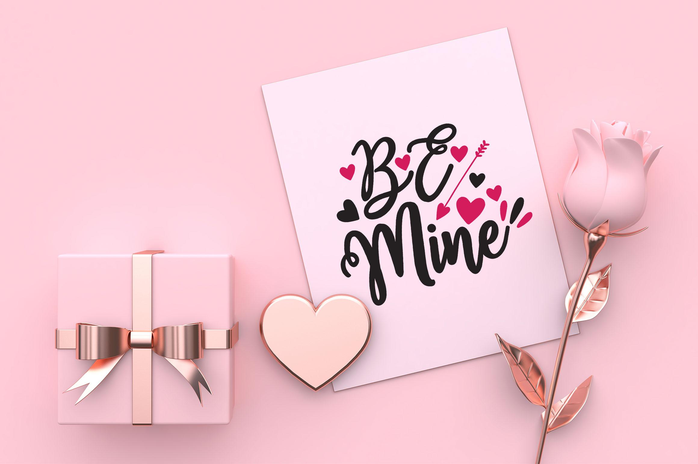 Valentine SVG Design Bundle Vol 1 example image 5