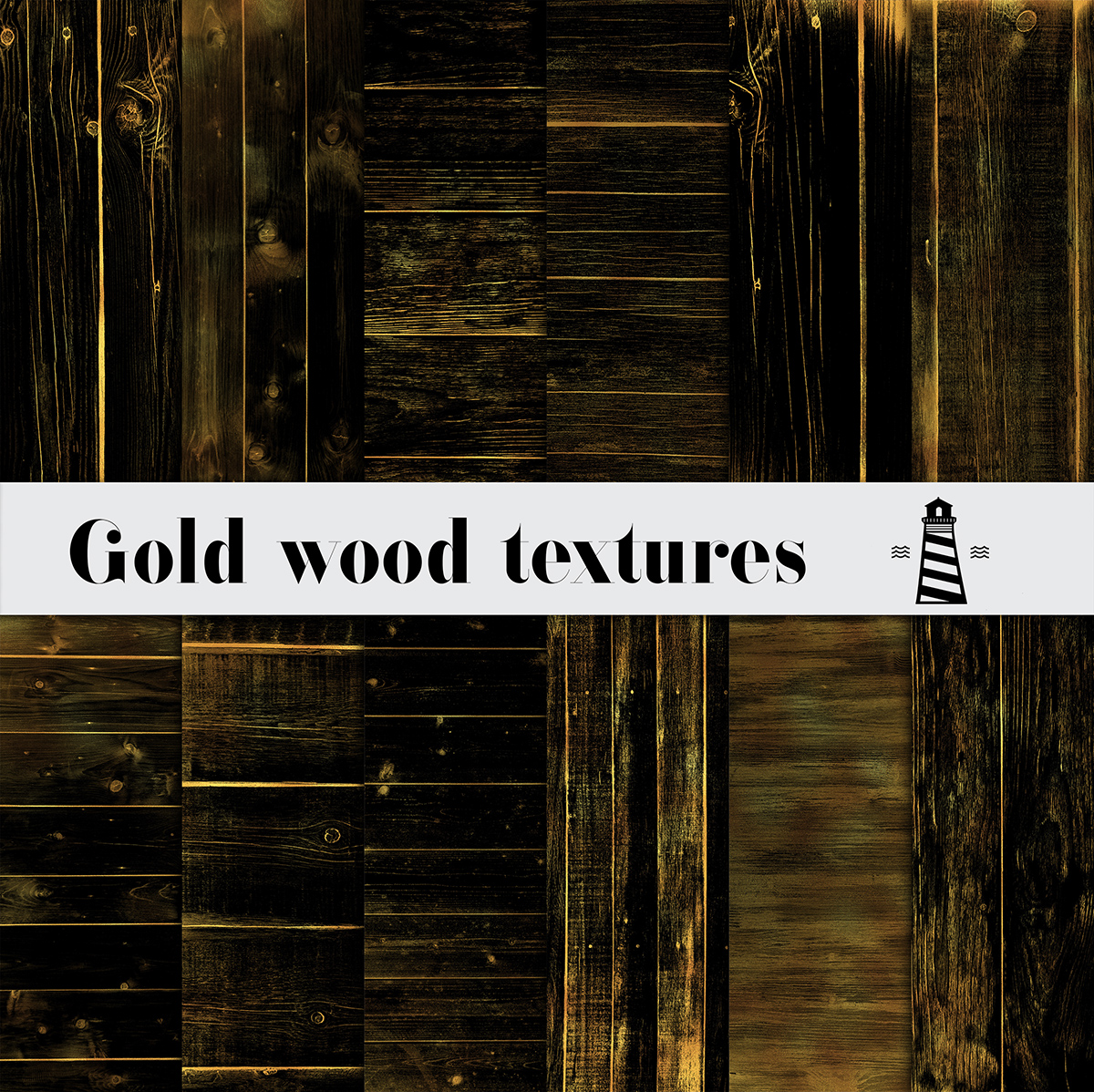 Gold Wood PNG Overlays example image 2
