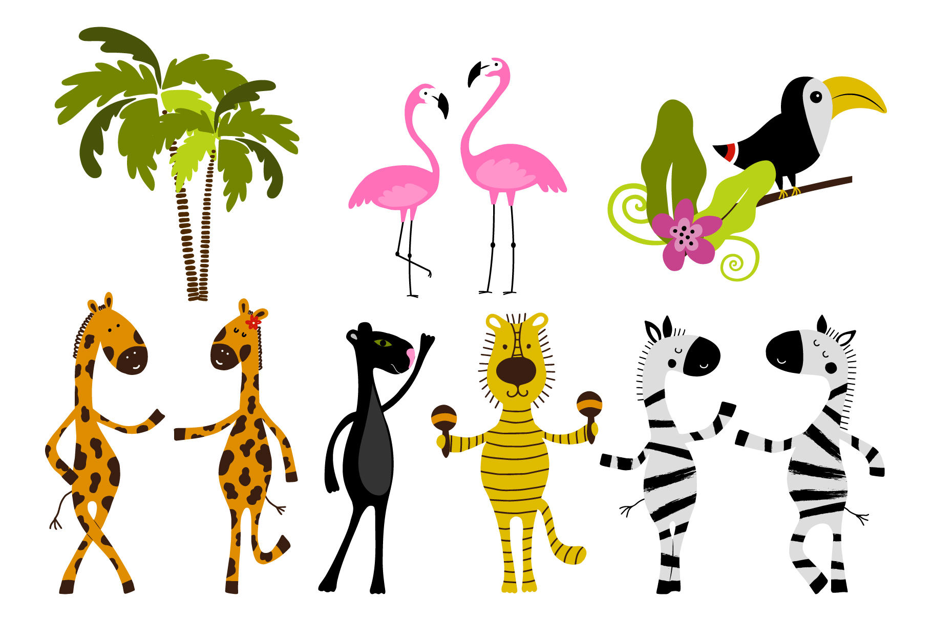 Hello summer! Tropical collection example image 2