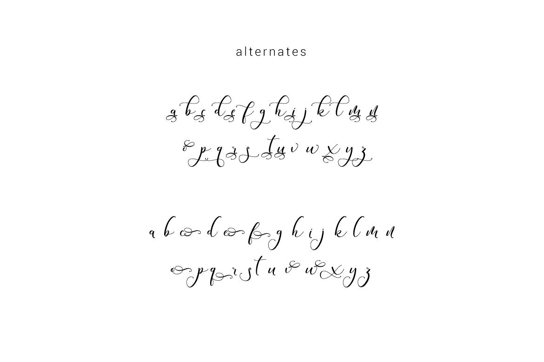 Andieny Script example image 8