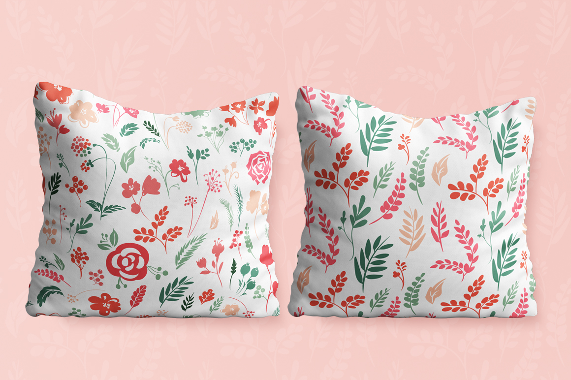 Vector Floral, patterns & hearts example image 5