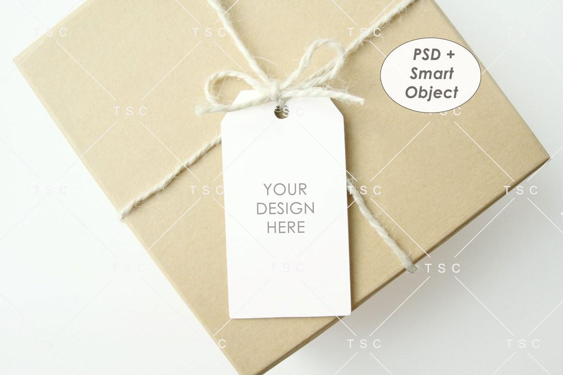 Tag Mockup / Gift Tag / Thank You Tag / Product Tag example image 1