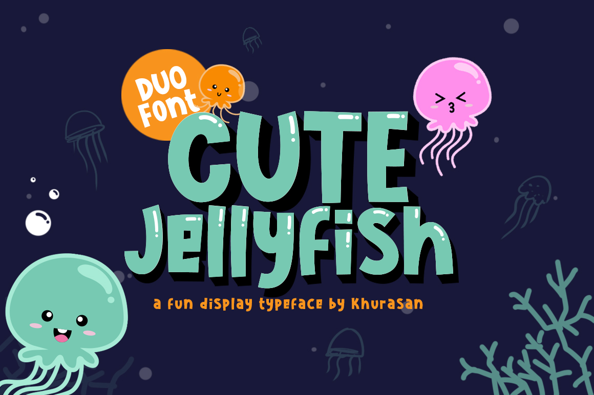 Cute Jellyfish example image 1