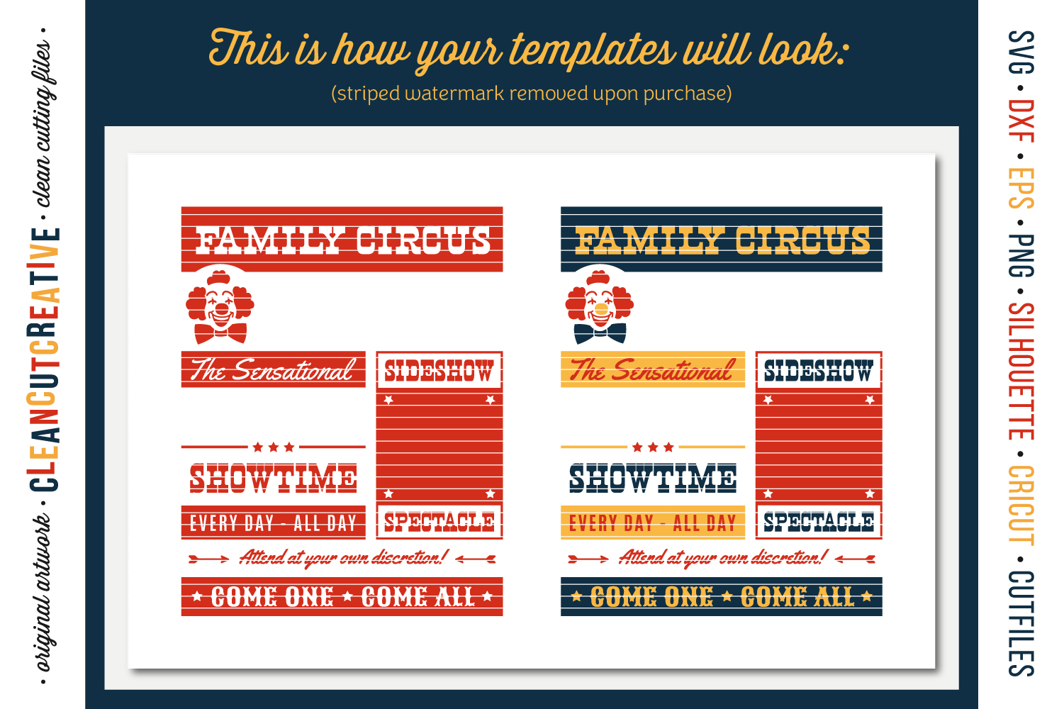 Funny FAMILY CIRCUS svg cut file for Cricut Silhouette SnC example image 4