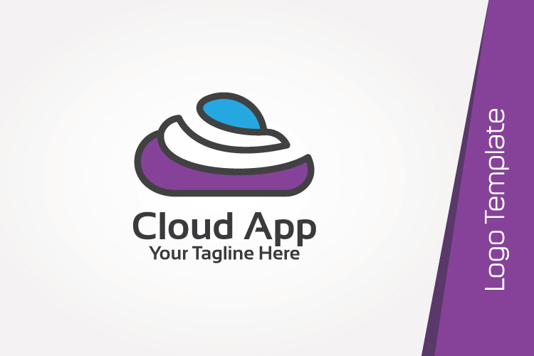 Color Cloud Logo Template example image 2