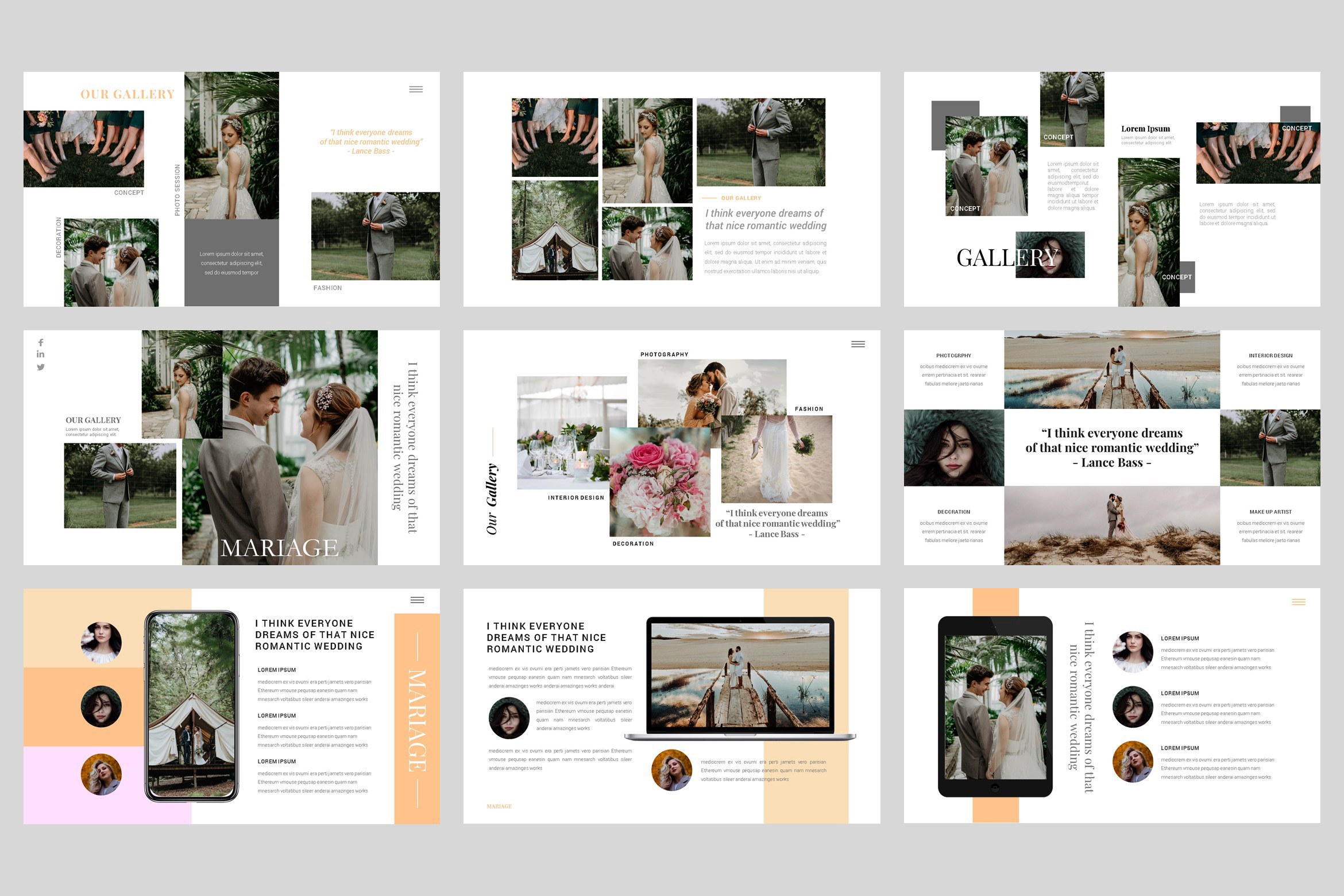 Mariage - Wedding Keynote Template example image 4