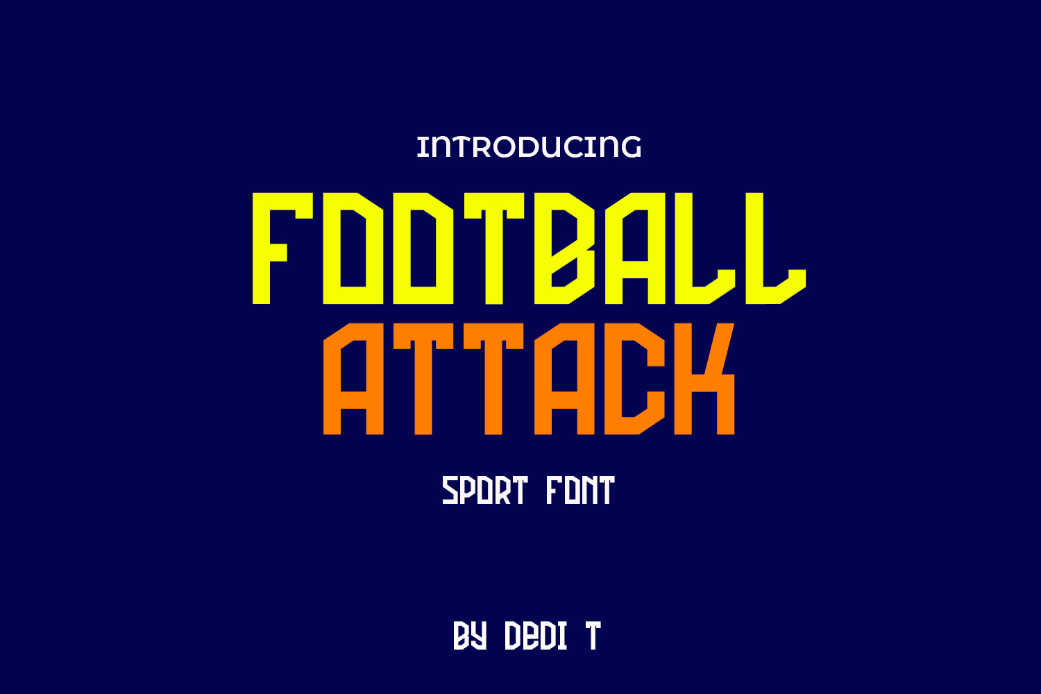 Football Attack example image 1