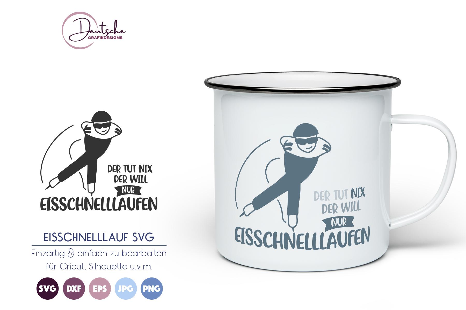 Eisschnelllauf SVG example image 1