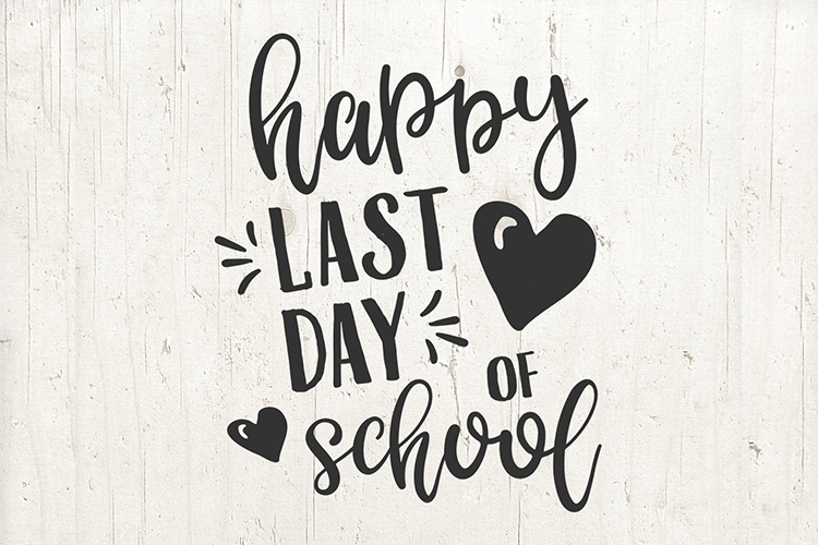 Happy last day of School svg, school sign, school svg example image 1