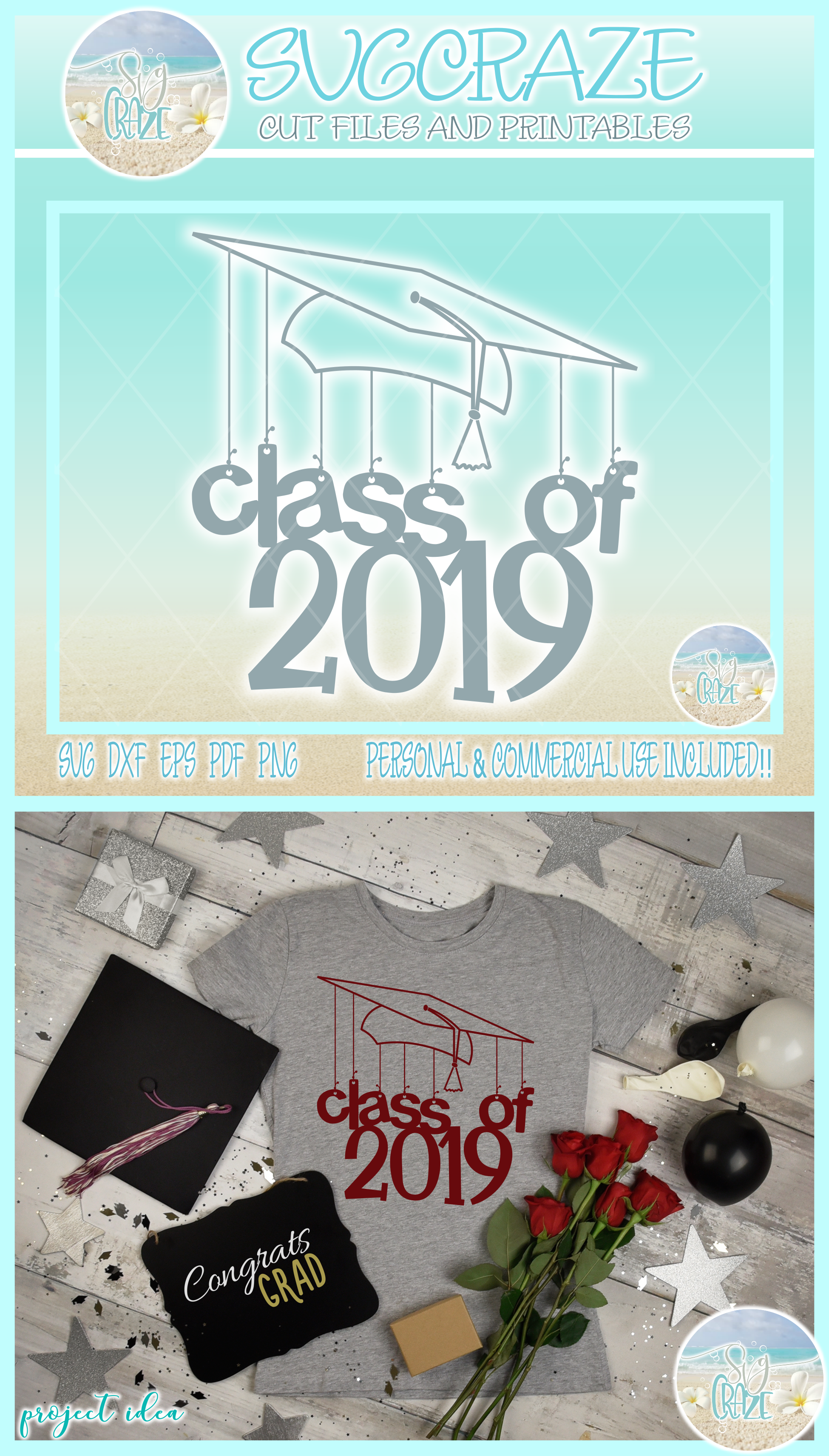 class of graduation banner tshirt quote svg