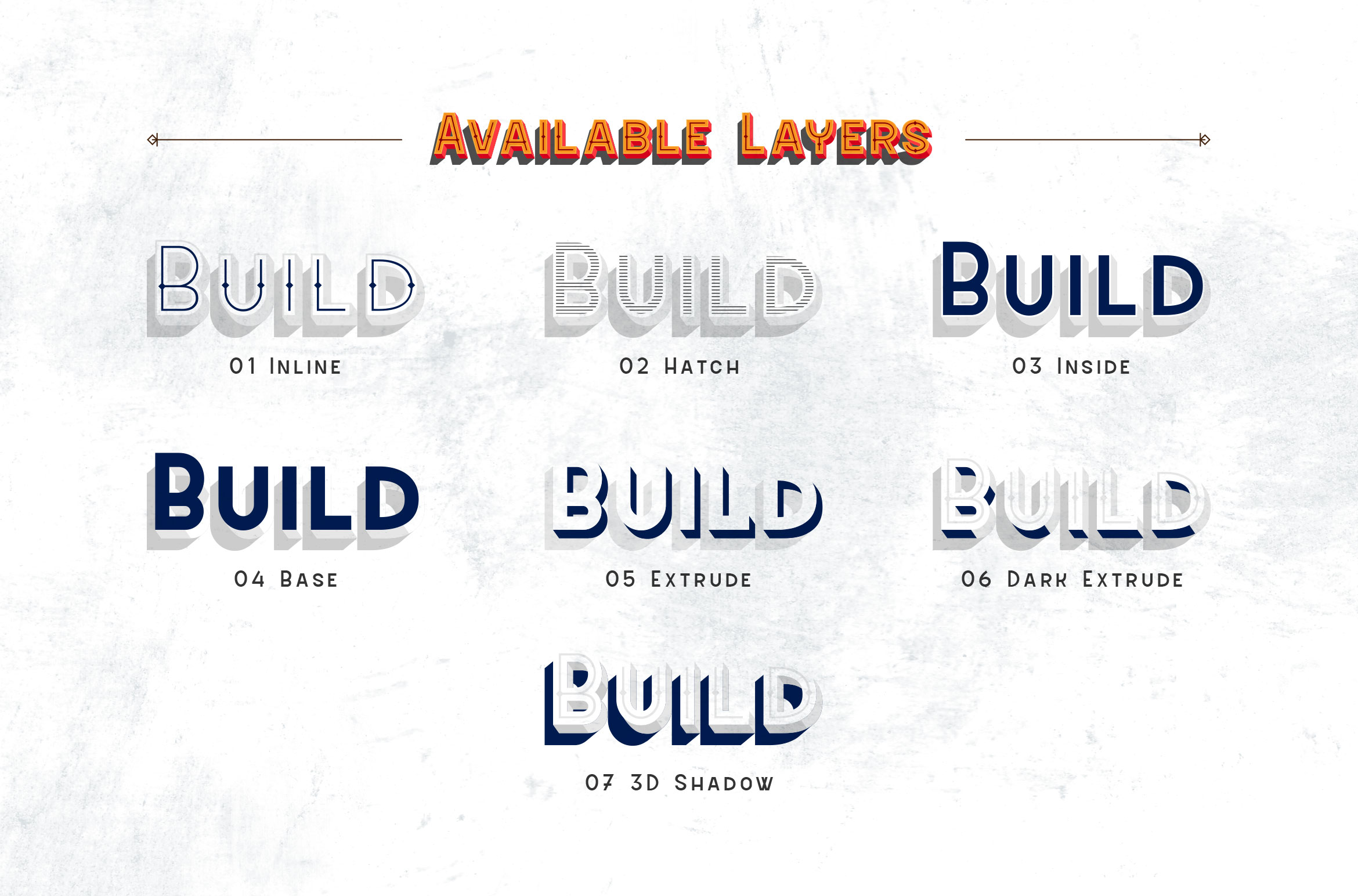 Sevastian - Seven Layered Typeface example image 2