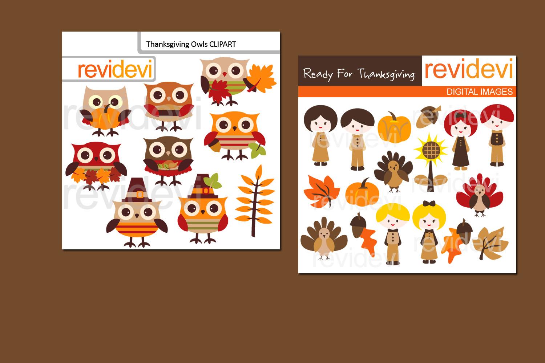 Thanksgiving Celebration Bundle Graphics example image 2
