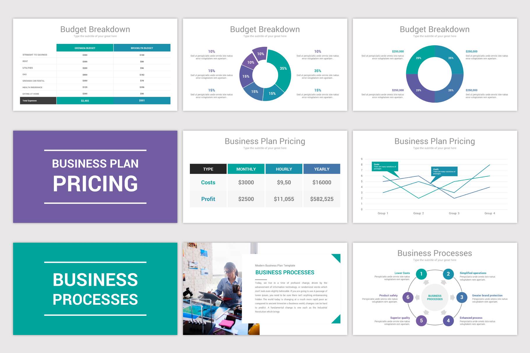 Business Plan Keynote Template example image 9