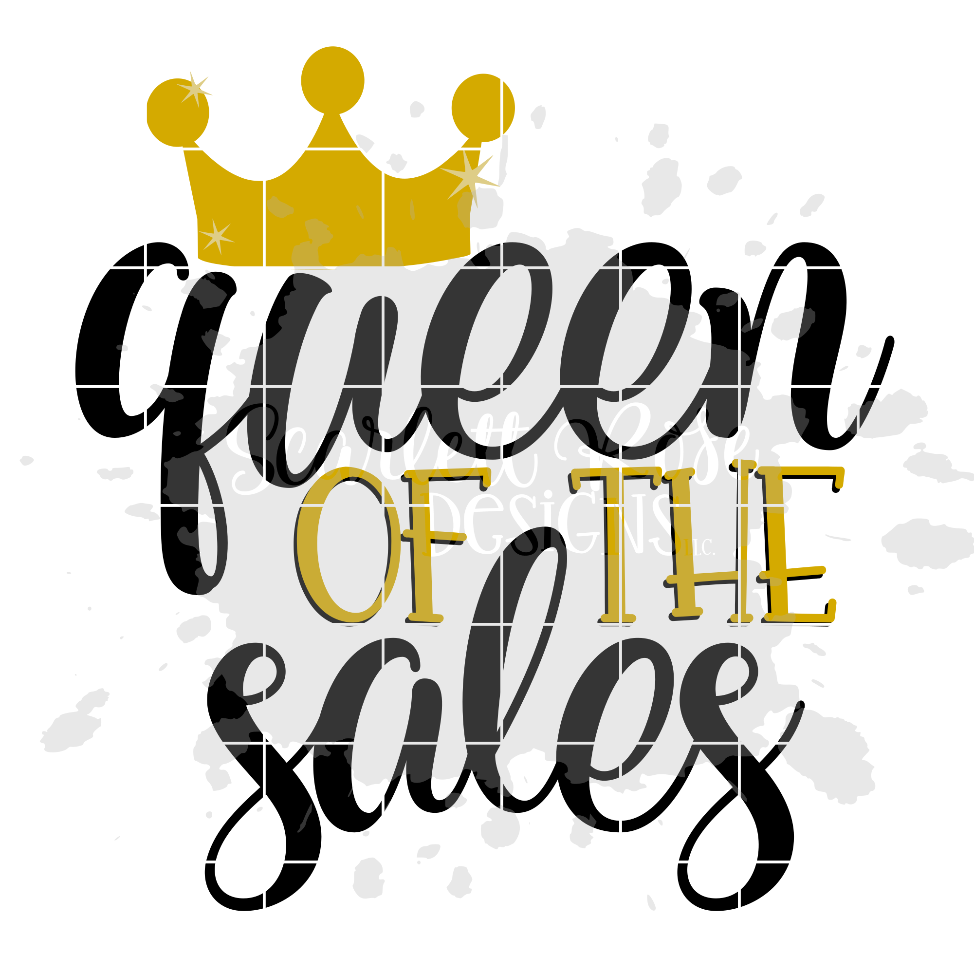 Queen of the Sales SVG - Black Friday SVG example image 2