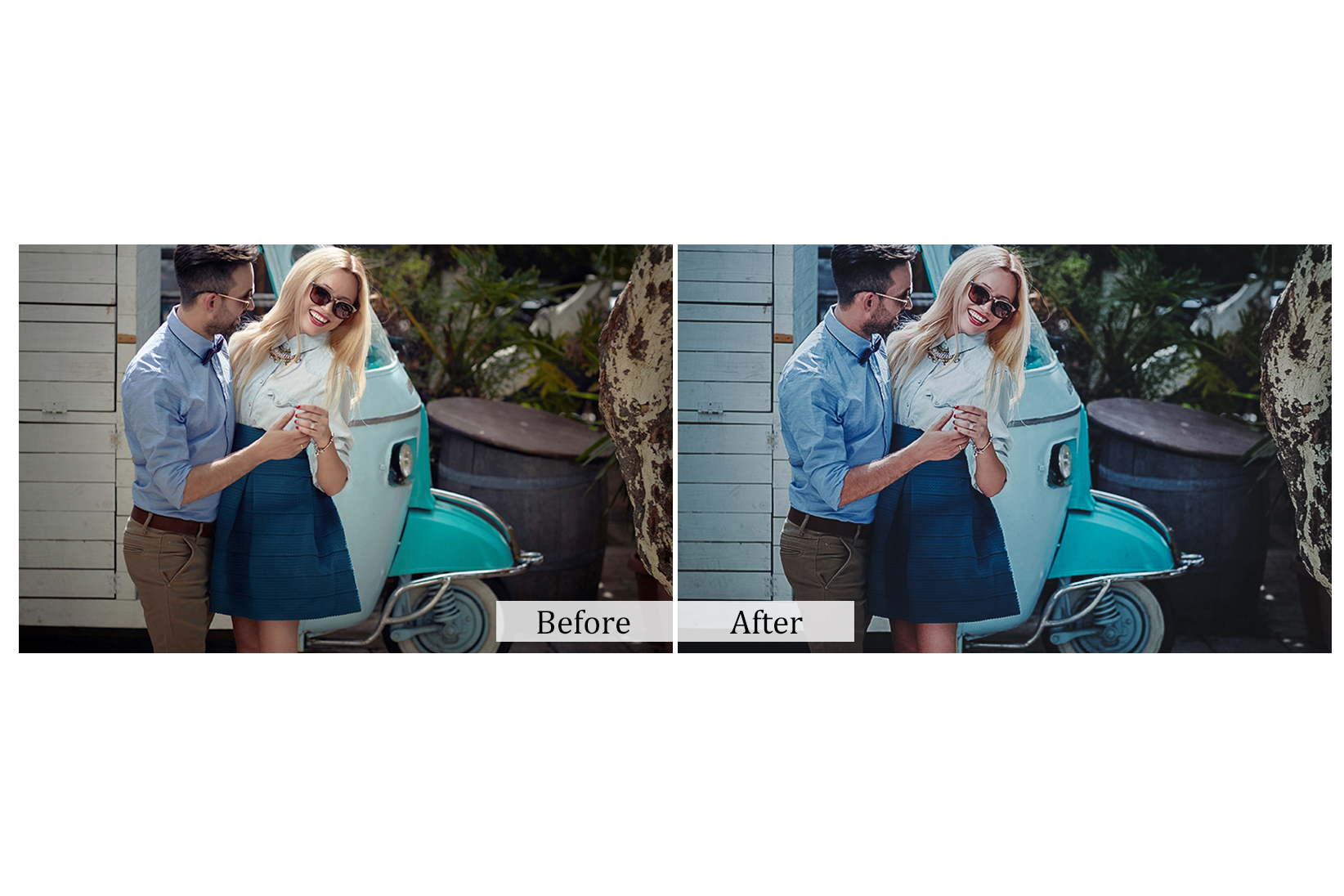100 True Love Photoshop Actions example image 5