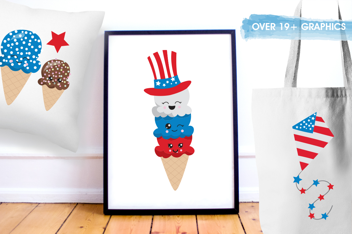 4th of July graphics and illustrations example image 3