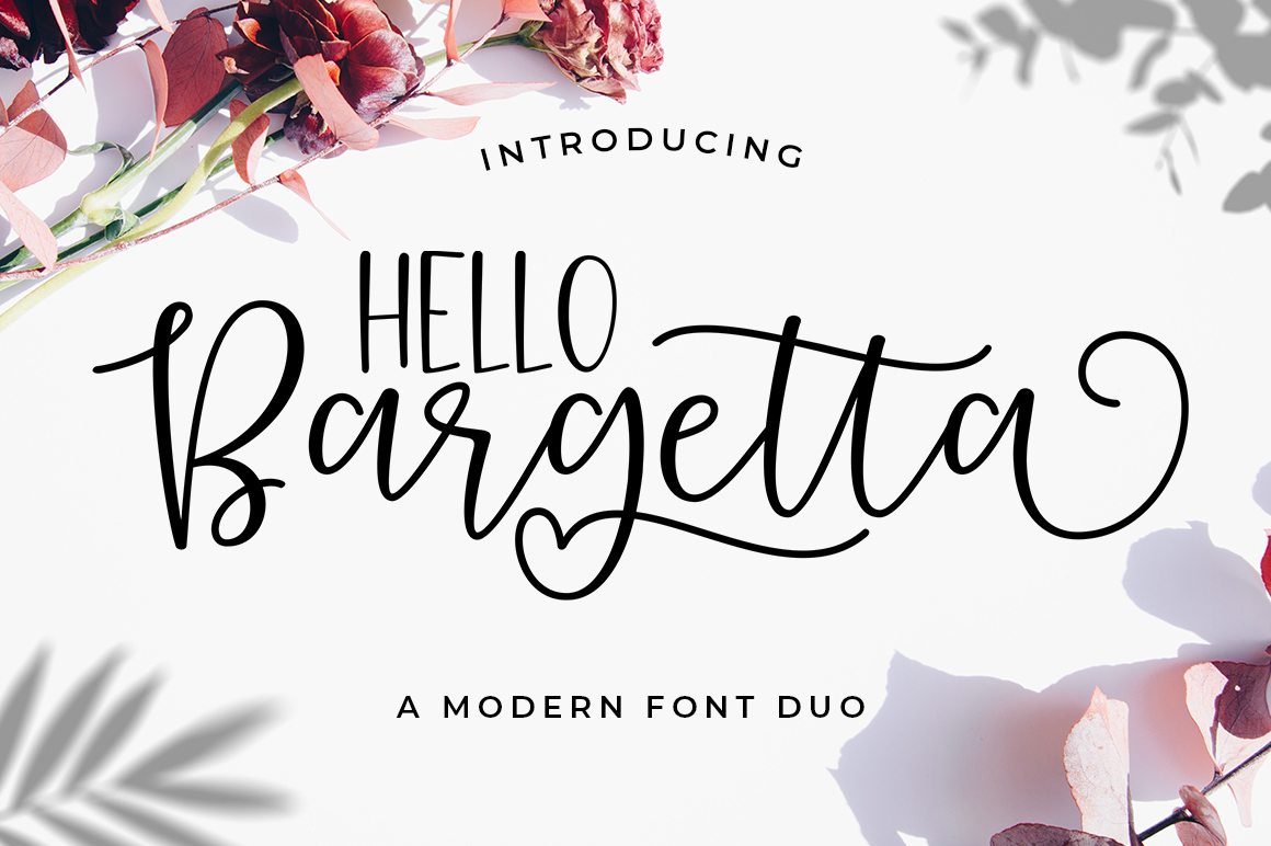 Bargetta Font Duo example image 1