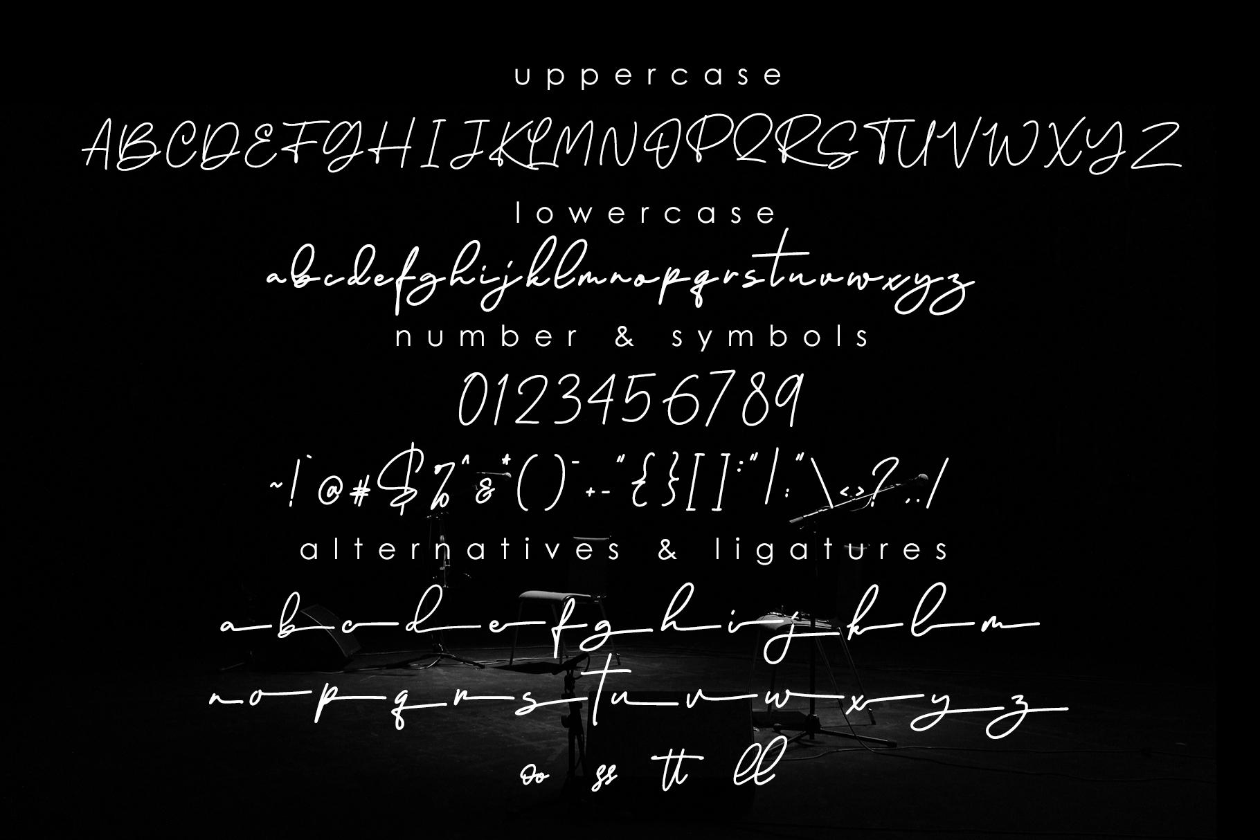 Ramtul - Signature Font example image 7