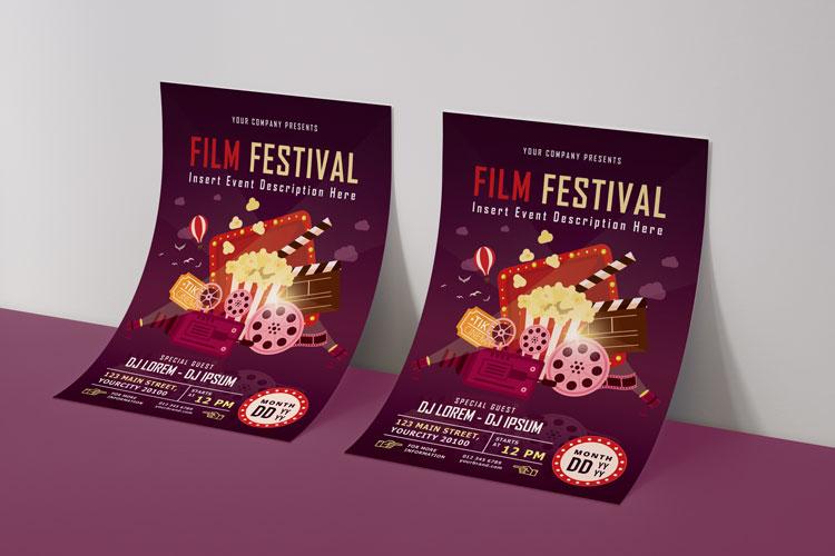FILM FESTIVAL FLYER example image 4