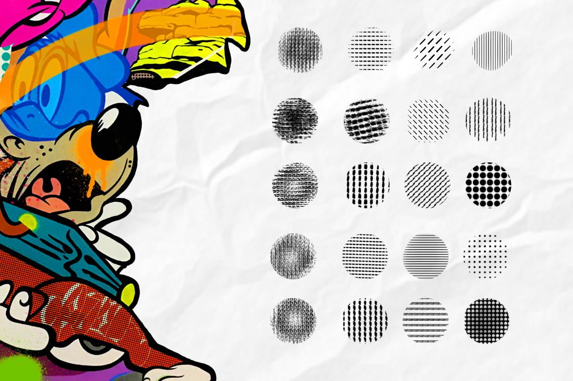 POP ART BRUSHES KIT FOR PROCREATE example image 5