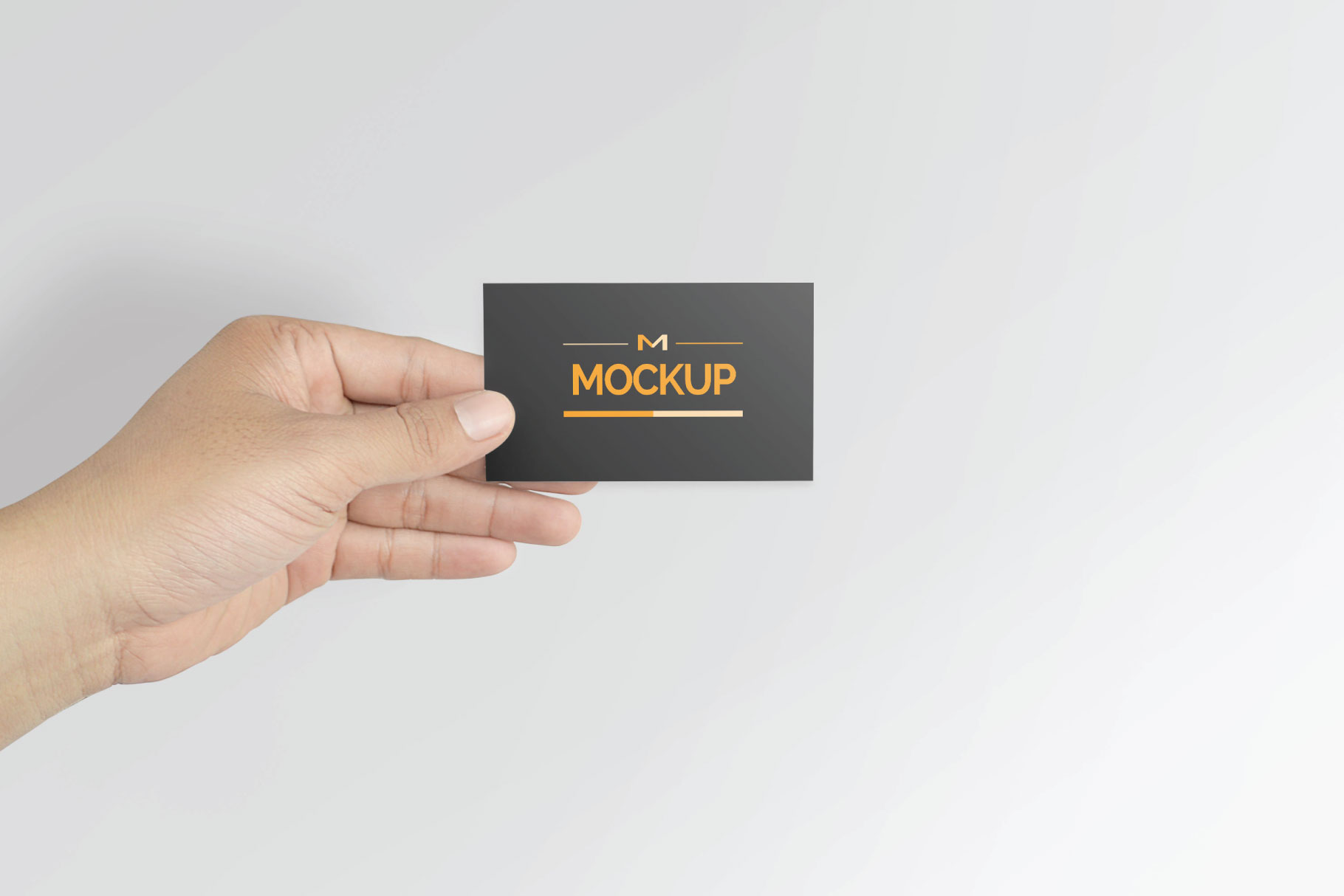 6 Style Business Card Mockups example image 3