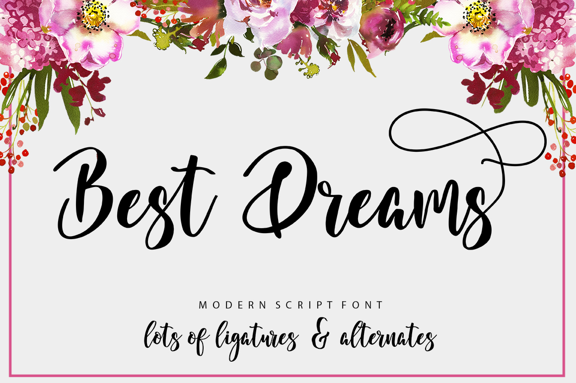 The Authentic Script Font Bundle example image 22