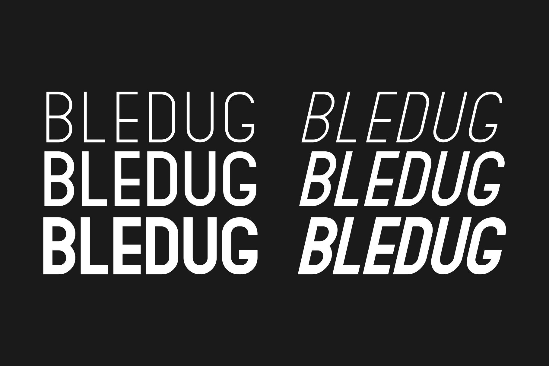 Bledug Font Family example image 2