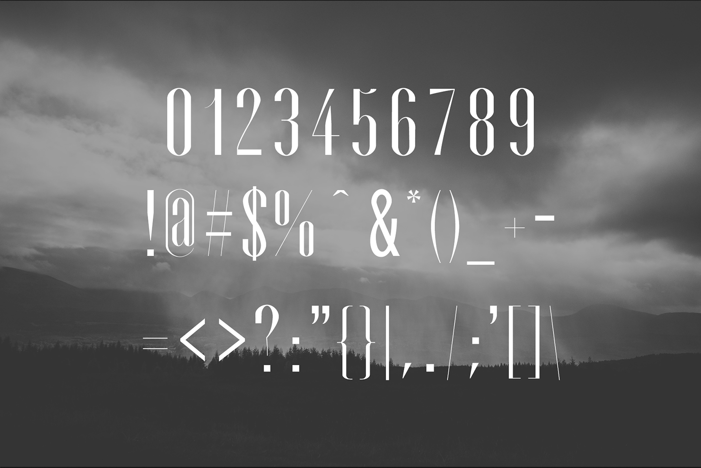 Cador Modern Sans Serif Font example image 3