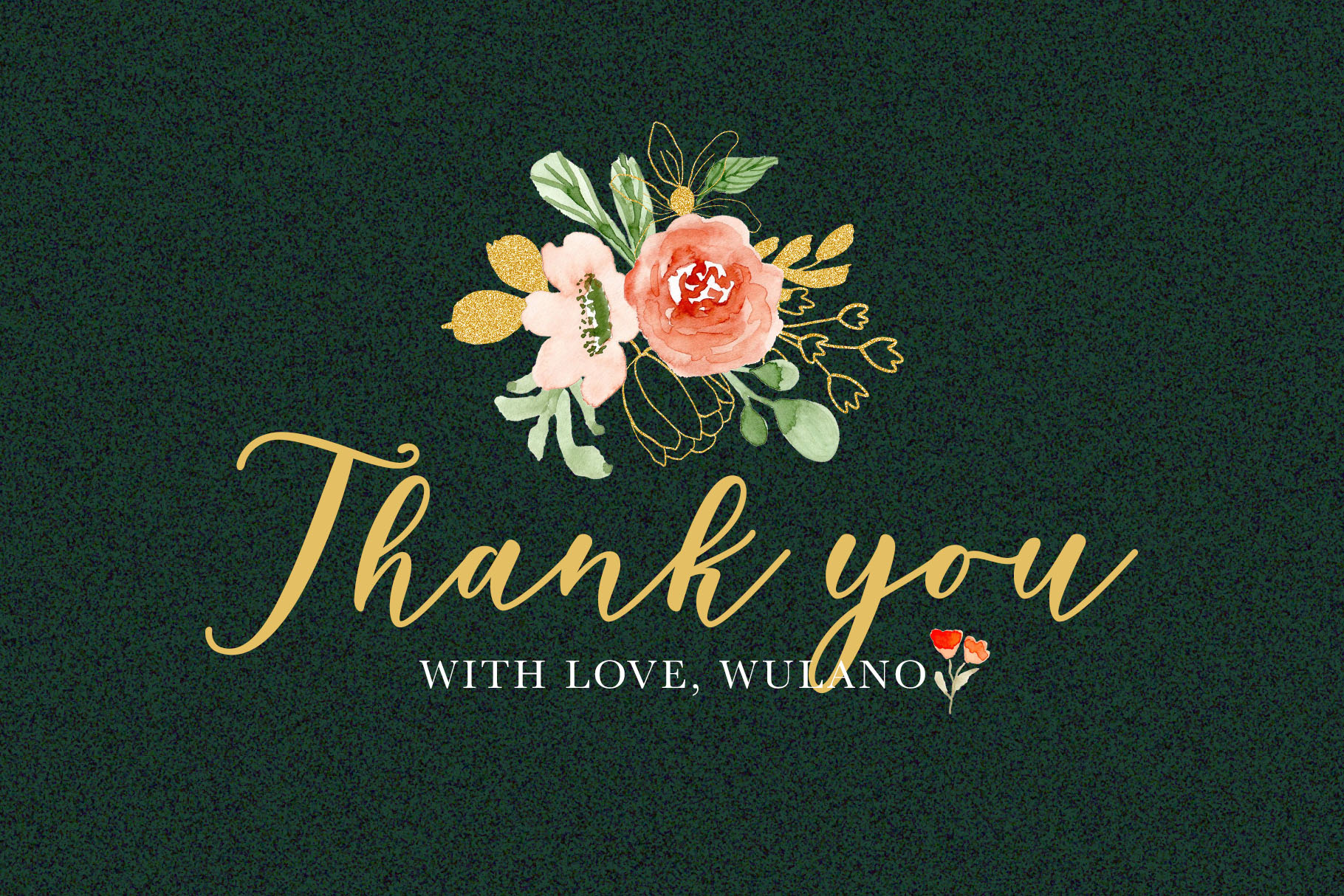 Classy Florals - Watercolor Clipart example image 6