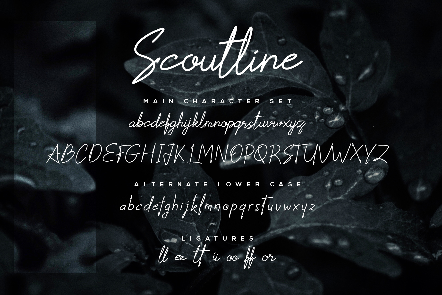 Scoutline Font example image 6