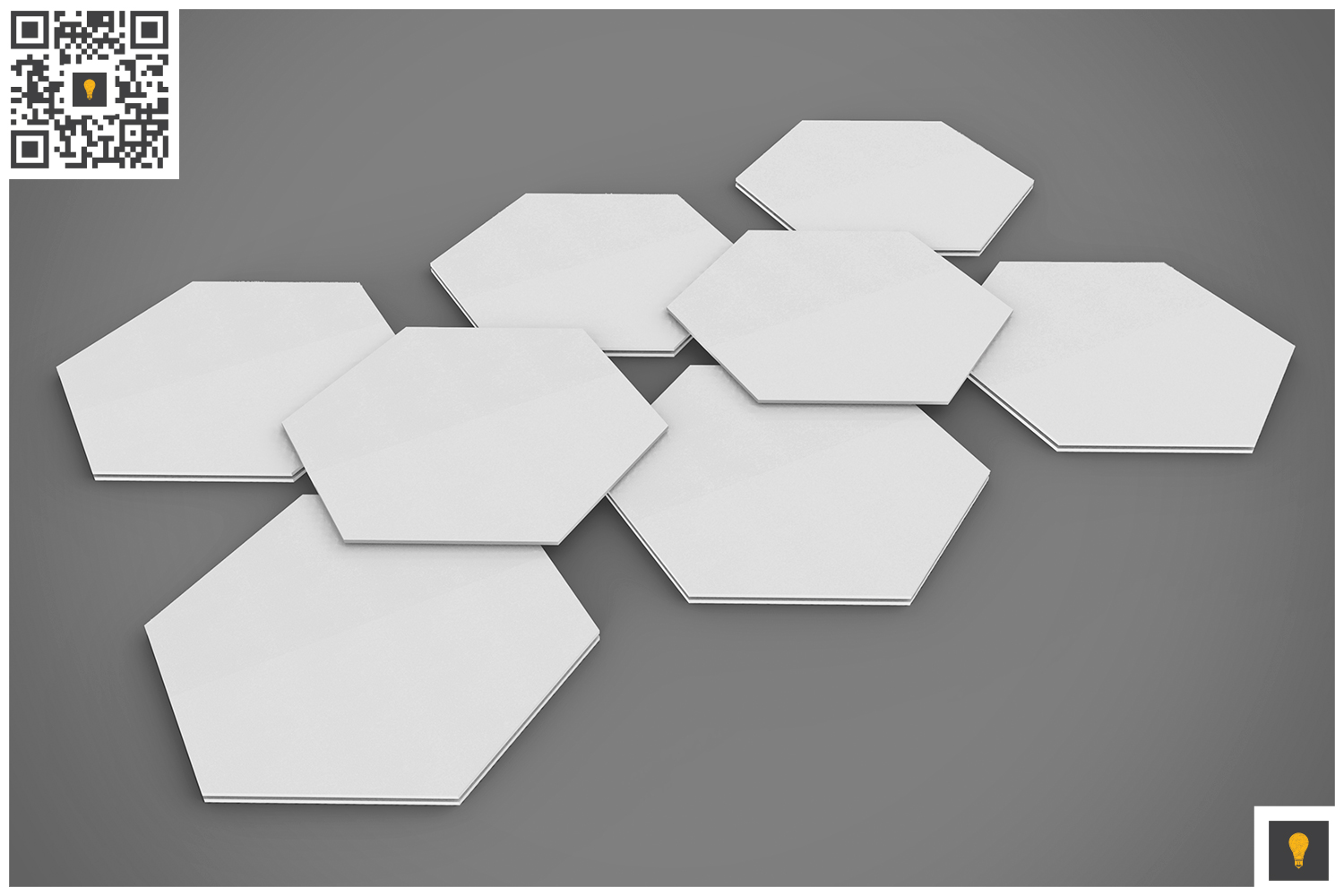Paper Coaster 3D Render example image 4